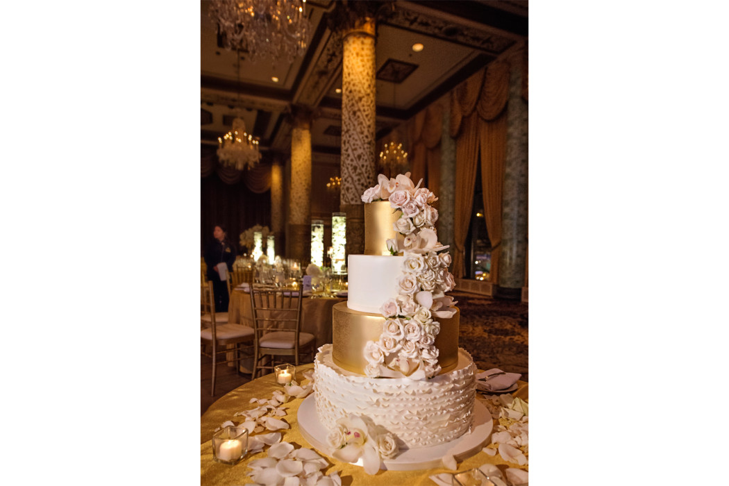 Carasco Photo_Cake_Gold Cake_The Drake Hotel