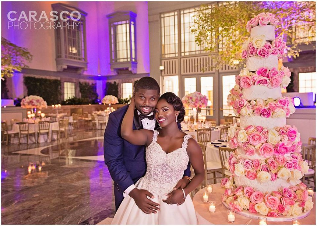 Mercy & Tony tie the knot at Harold Washington Library