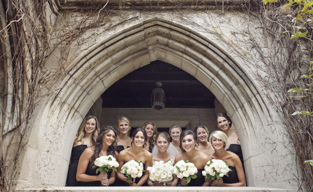 Carasco Photo_Bride and Bridesmaids_Fourth Presbyterian