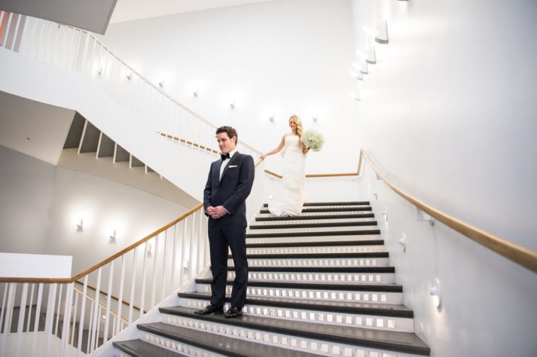 "4 Steps to Taking the Perfect ""First Look"" Photo Inside Weddings"