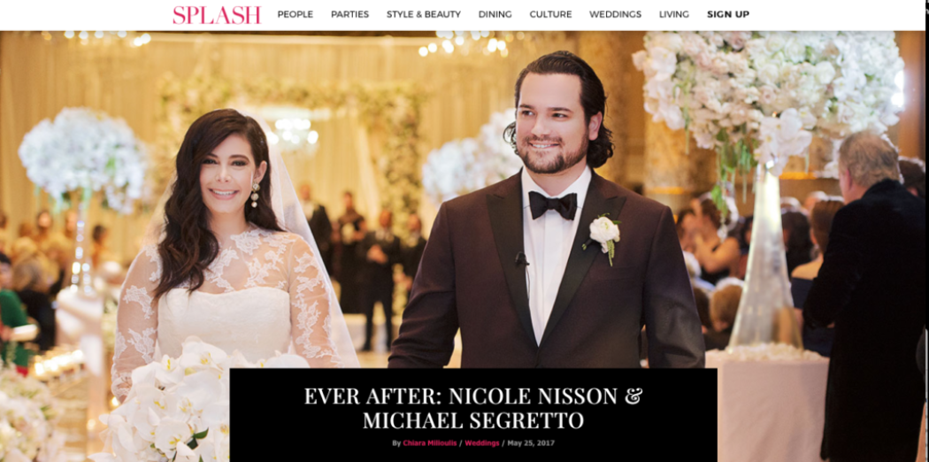 Nicole and Michael featured in ChicagoSplash