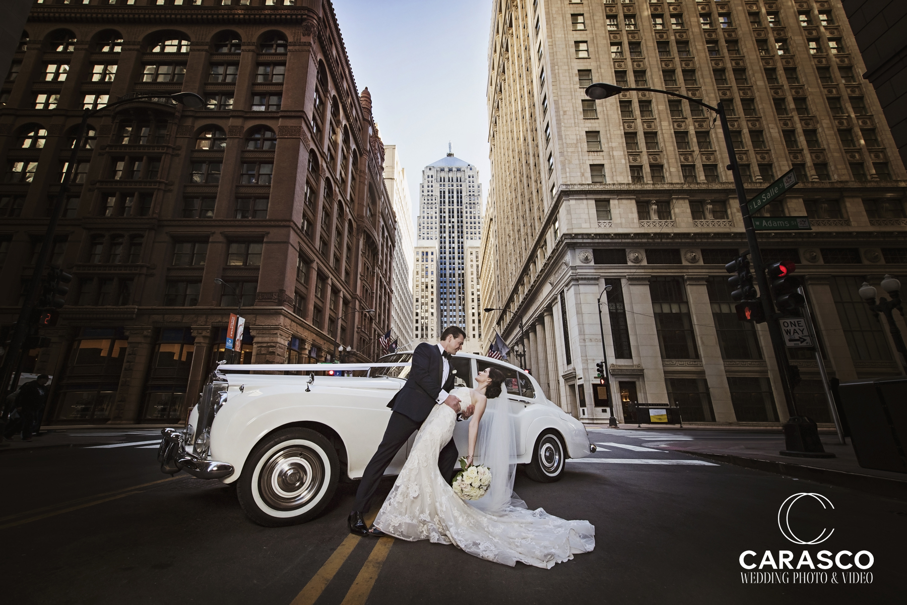 Traditional Ceremony Ballroom Reception In Downtown Chicago Carasco Wedding Photography
